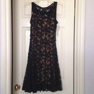 OW NWT Chetta B black dress